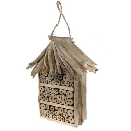 Driftwood Bee House